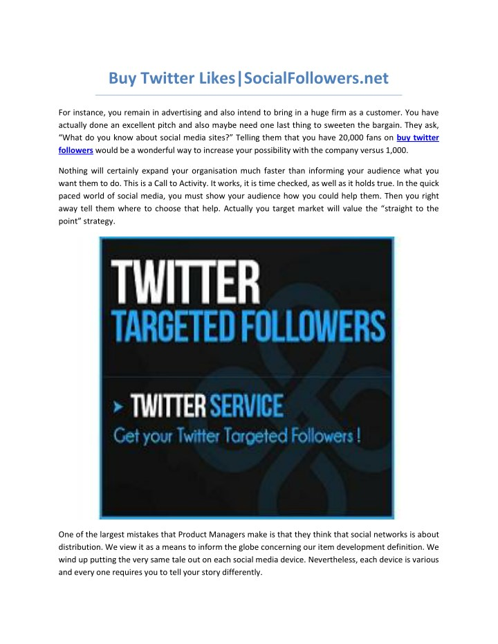 buy twitter likes socialfollowers net n.