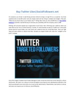 buy twitter likes socialfollowers net