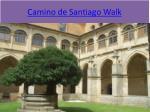 camino de santiago walk