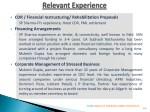 cdr financial restructuring rehabilitation