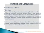 consultants advisors