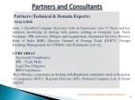 partners technical domain experts anuj ashok