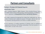 partners technical domain experts