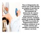 para el diagn stico de c ncer de cuello uterino