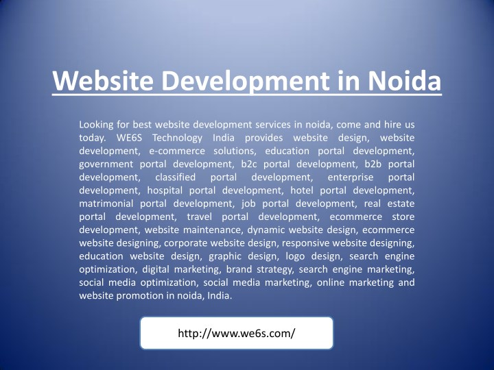 website development in noida n.