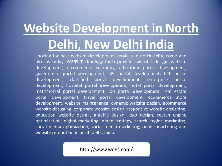 website development in north delhi new delhi n.