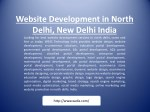 website development in north delhi new delhi