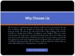 why why choose us choose us