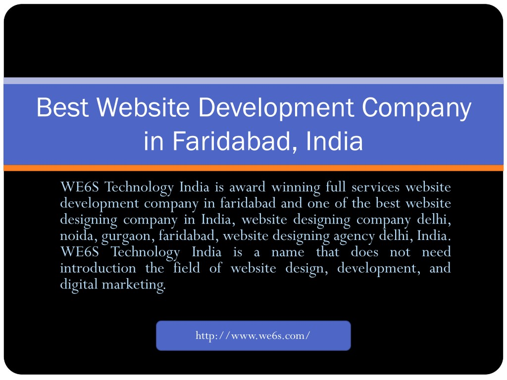 Ppt Website Development In Faridabad Powerpoint Presentation Free Download Id 7802027