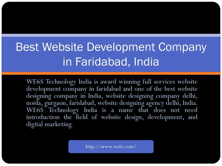 best website development company in faridabad n.