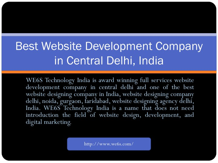 best website development company in central delhi n.