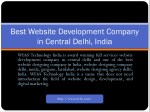best website development company in central delhi