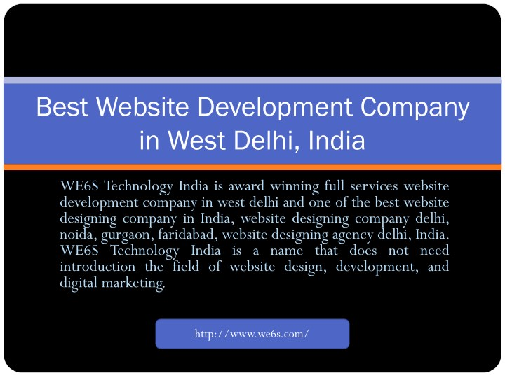 best website development company in west delhi n.