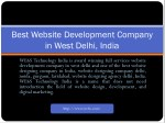 best website development company in west delhi