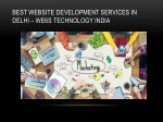 best website development services in delhi we6s