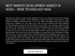 best website development agency in noida we6s