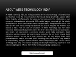 about we6s technology india