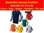 konveksi jersey custom wa 085 719 5151 86 futsal 2