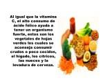 al igual que la vitamina c el alto consumo