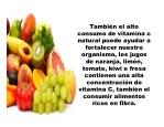 tambi n el alto consumo de vitamina c natural