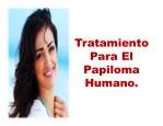 tratamiento para el papiloma humano