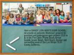 here at dandy lion montessori school we provide