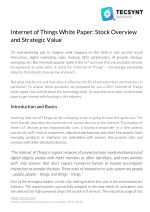 internet of things white paper stock overview