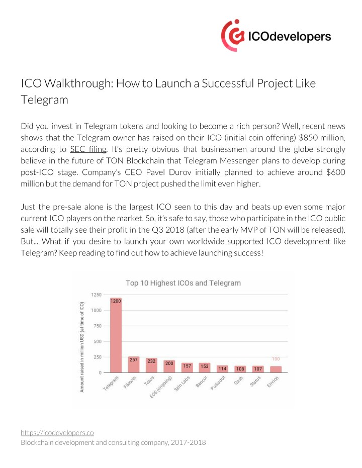 ico walkthrough how to launch a successful n.