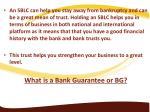 an sblc can help you stay away from bankruptcy