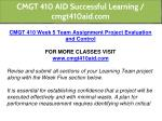 cmgt 410 aid successful learning cmgt410aid com 20