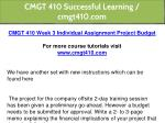 cmgt 410 successful learning cmgt410 com 11