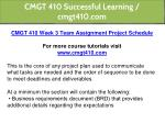 cmgt 410 successful learning cmgt410 com 12