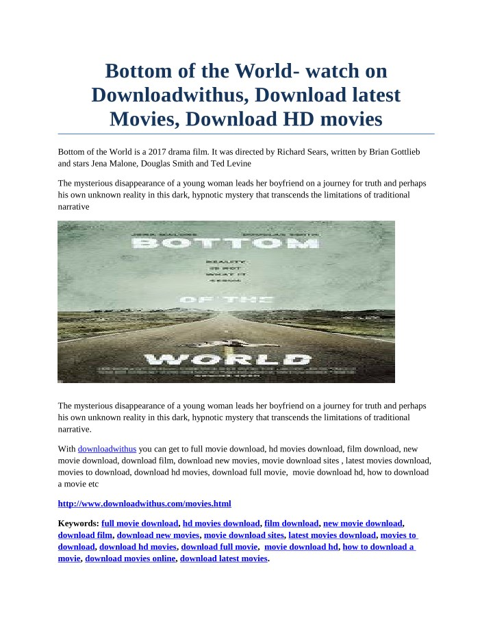 bottom of the world watch on downloadwithus n.