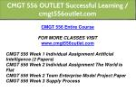 cmgt 556 outlet successful learning cmgt556outlet 1