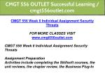 cmgt 556 outlet successful learning cmgt556outlet 11