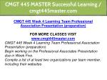 cmgt 445 master successful learning cmgt445master 20