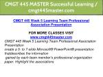 cmgt 445 master successful learning cmgt445master 24
