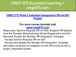 cmgt 575 successful learning cmgt575 com 7