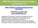 cmgt 582 study successful learning cmgt582study 5