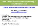 com 295 mentor successful learning com295mentor 4