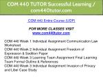 com 440 tutor successful learning com440tutor com 1