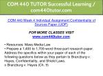 com 440 tutor successful learning com440tutor com 6