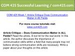 com 425 successful learning com425 com 2