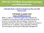 com 486 tutorial successful learning 2