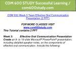 com 600 study successful learning com600study com 7
