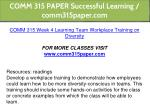 comm 315 paper successful learning comm315paper 13