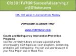 crj 301 tutor successful learning crj301tutor com 10