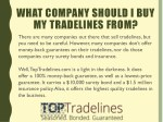 what company should i buy my tradelines from