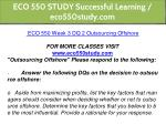 eco 550 study successful learning eco550study com 12