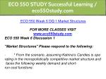 eco 550 study successful learning eco550study com 18